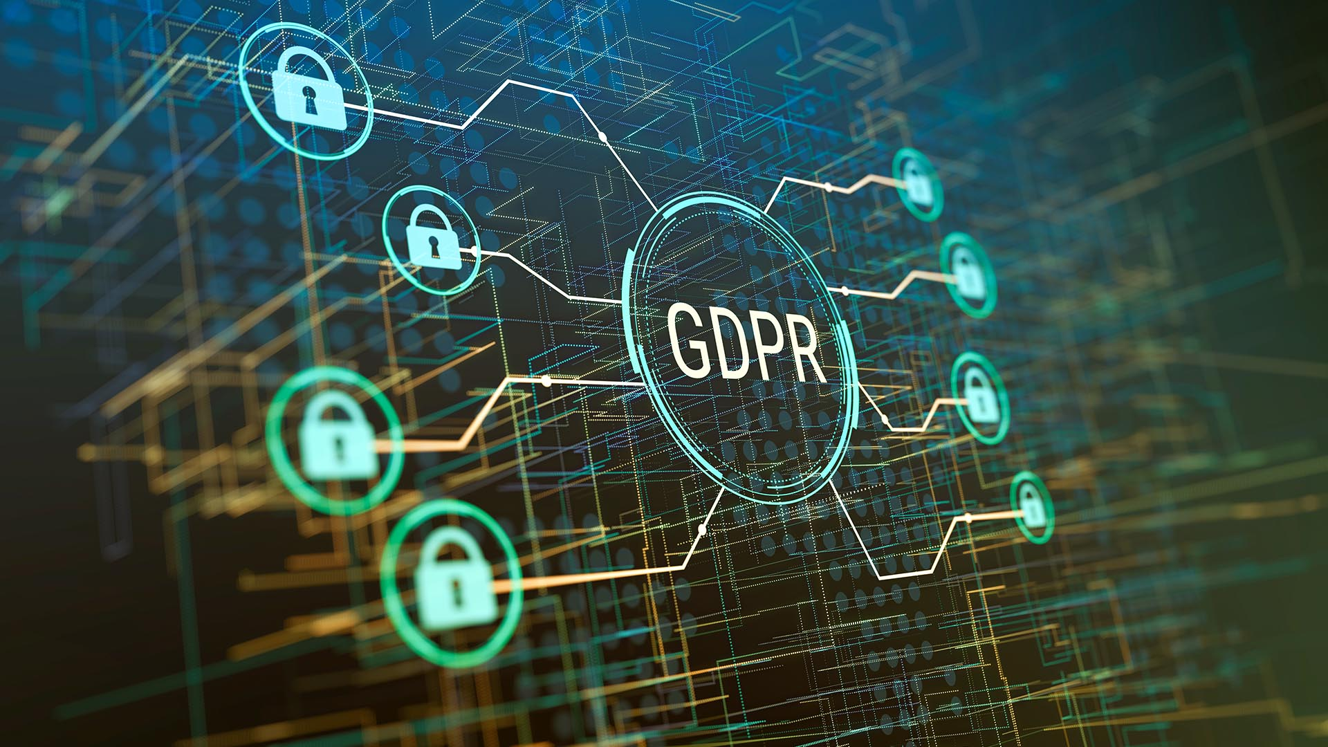 cybersecurity image for a blog about what is a GDPR policy