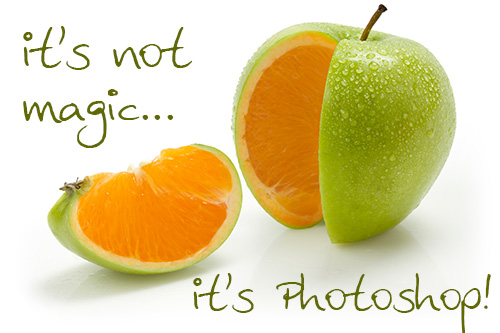 It's not magic...it's Photoshop!