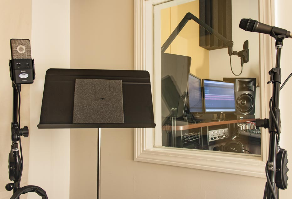Inside the Market Mentors Recording Studio